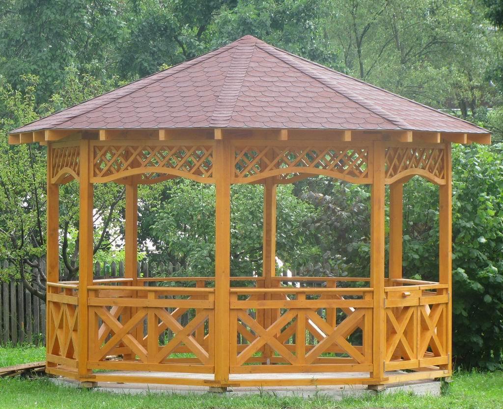 Foisoare din lemn pentru gradina casute de gradina si for Kiosco de madera para jardin